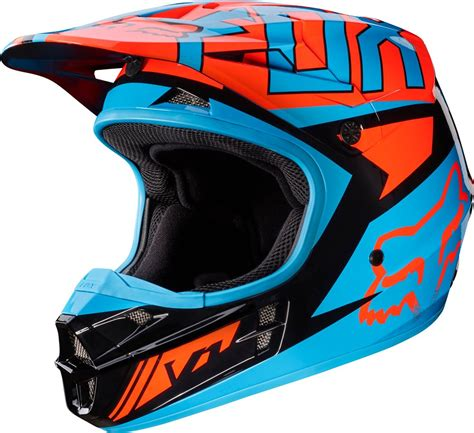 motocross helmets ebay fox racing v1 falcon dot approved motocross mx helmet ebay