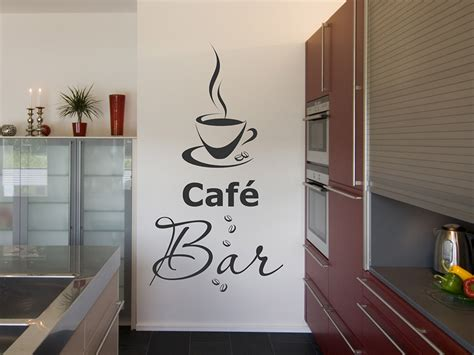 Bar In Der Küche by Wandtattoo Caf 233 Bar Mit Tasse Bei Homesticker De