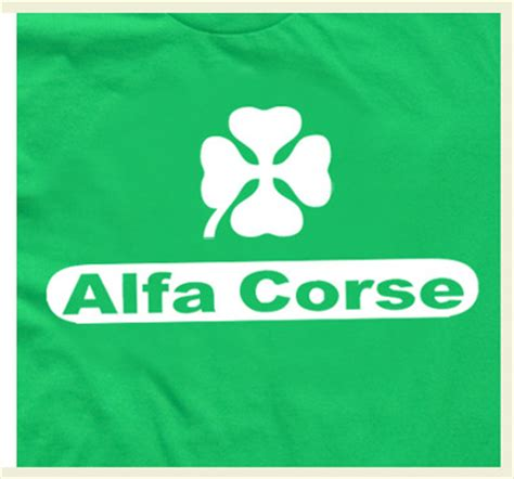 alfa corse alfa romeo racing  shirt  storenvy