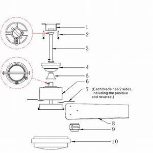 Installation Instructions Of Ceiling Fans  U2013 Ceiling Fan Light