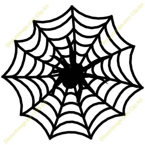 Spider Web Clip Best Spider Web Clipart 4386 Clipartion