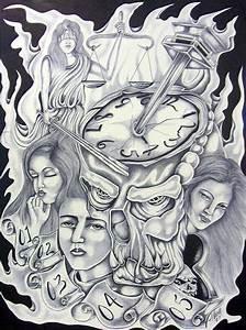 Chicano Prison Tattoos | Prison Art Tattoo | mine ...