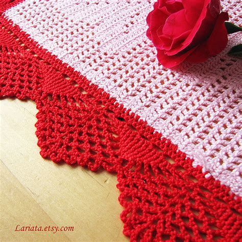 Vintage Crochet Table Runner Patterns