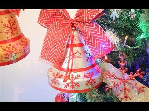Campana navideña con limpiapipas Doovi