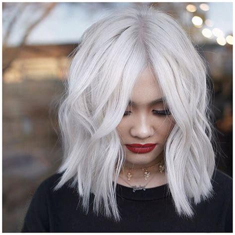 30 New Short White Hair Ideas 2019 Crazyforus