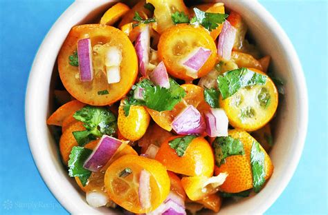 cuisine appetizer kumquat salsa recipe simplyrecipes com