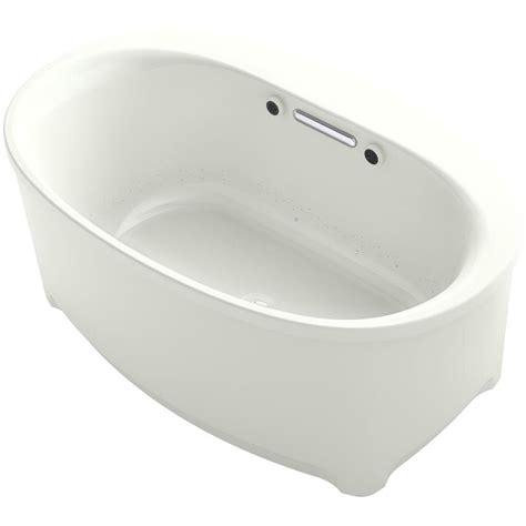 Air Bath Tub by Kohler Underscore 5 Ft Air Bath Tub In Dune K 5702 G Ny