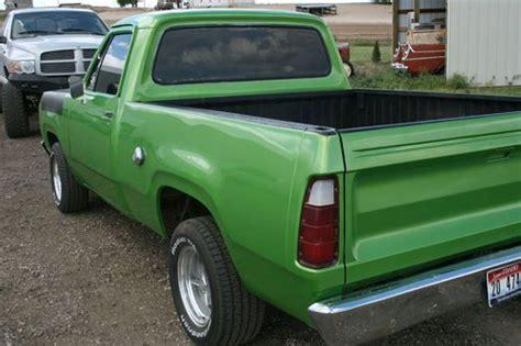 find   dodge  short box fleetside truck