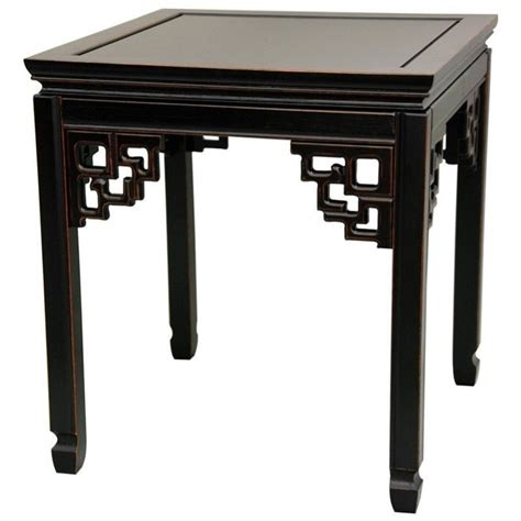 small dining room table sets furniture square ming table in black st pa106 ab