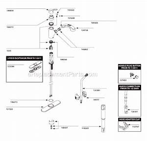 Moen Ca87316c Parts List And Diagram   Ereplacementparts Com