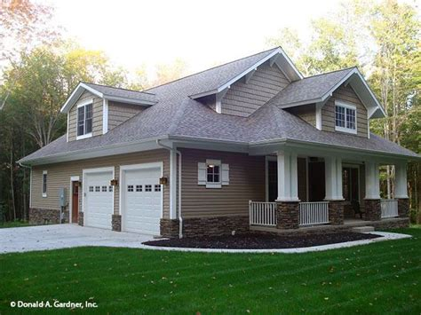 Side Exterior Bungalow style house plans