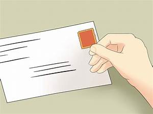 How to label an envelope 13 steps with pictures wikihow for Labels for letter envelopes