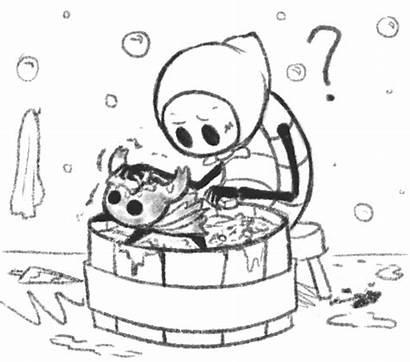 Quirrel Knight Hollow Ghost Bath Generally Hang