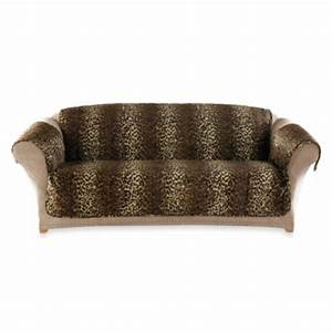 buy sure fitr deluxe pet furniture sofa throw cover in With bed bath and beyond sofa throws