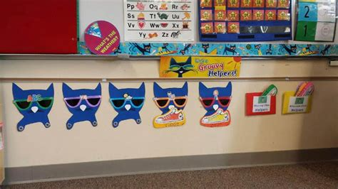 Pete The Cat Classroom Themes by Pete The Cat Preschool Classroom Abc Zone