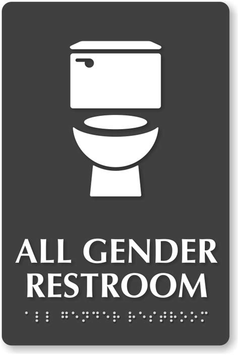 Gender Neutral Bathroom Signs by Bathrooms Are Gender Battlegrounds Mostly Due To