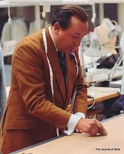 Bespoke Tailor Steven Hitchcock Giving a Cutting Class