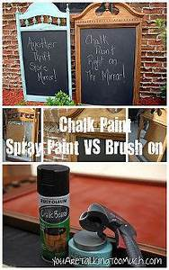Chalkboard Paint Tips & Tricks Idea Box by Angela, Blue i