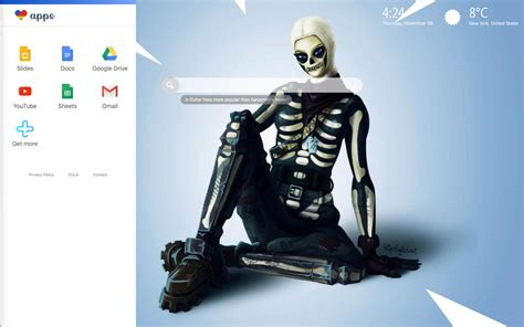 fortnite skull trooper hd wallpapers  epic fortnite