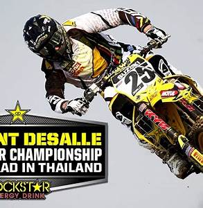 Desalle Takes Red Plate with Thai Podium Rockstar Energy Drink