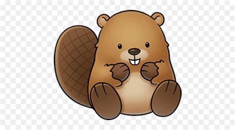 beaver drawing cartoon clip art brown cute beaver png