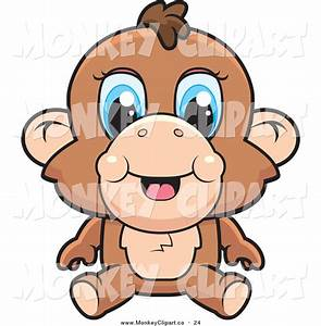 Baby Girl Monkey Cartoon | Clipart Panda - Free Clipart Images