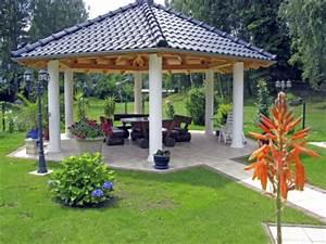 Garten überdachung Freistehend Holz : der pavillon mehr als nur ein schutz vor regen ~ Whattoseeinmadrid.com Haus und Dekorationen
