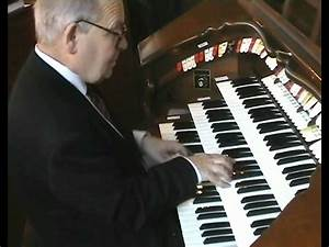 Dave Nicholas playing a Waltz Medley on Allen ADC 4600 ...