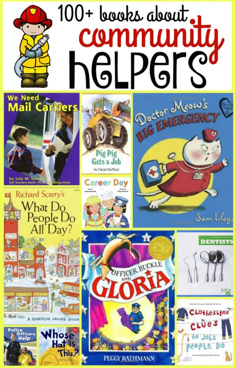 100 community helper books the measured 409 | 100 books about community helpers 590x923
