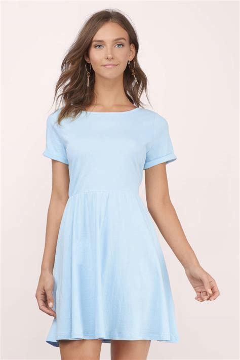 light blue of the dress grey skater dress above the knee dress 40 00