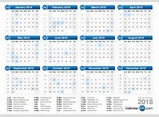 October 2018 Calendar With Holidays calendar yearly