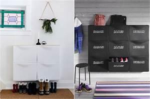 Ikea Meuble A Chaussure : astuce rangement chaussures nos conseils pour mettre de ~ Dallasstarsshop.com Idées de Décoration