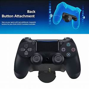 Replacement For Playstation 4 Ps4 Back Button Flat Button