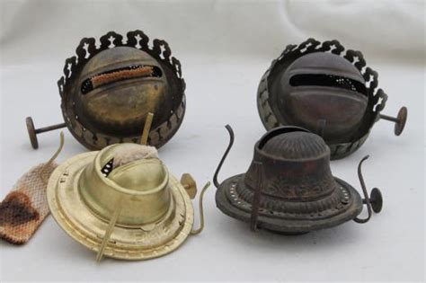 Replacement Wicks For Oil Lamps by Old Oil Kerosene Lamp Parts Burner Lamp Wick Assemblies