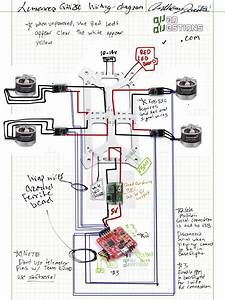 Lumenier Qav250 Quadcopter Wiring Diagram For Naze32  Kiss Escs And Bec