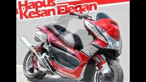 Modif Motor Matic Terkeren by 77 Modif Motor Matic Honda Spacy Terkeren Klepon Modifikasi