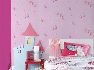 Papier Peint Petite Fille : deco chambre fille papier peint ~ Dailycaller-alerts.com Idées de Décoration