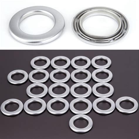 Plastic Curtain Grommet Kit by Set Of 20 Plastic Drapery Curtain Eyelets Rings