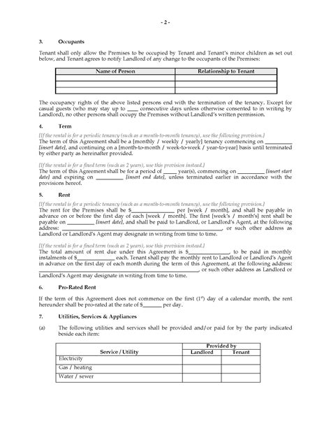 condominium rules rental agreement template ontario condominium tenancy agreement legal forms and