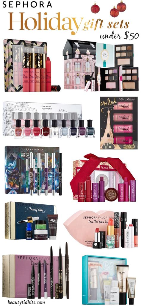 best sephora holiday gift sets under 50