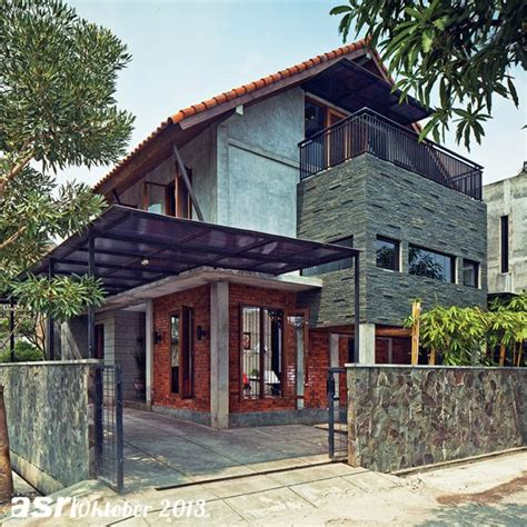 sosok bangunan modern tropis mudah dikenali berkat