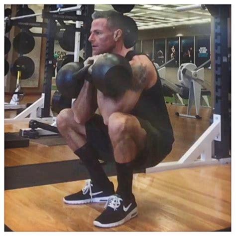 heavy rep density legs training kettlebell kb double front squat