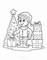 Coloring Contest Wgel Printable Presents Calendar Tree Homemade Elf Greenville Library Age sketch template