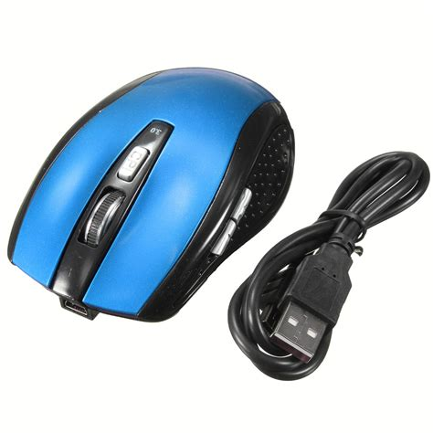 Rechargeable 30 Bluetooth Wireless Optical Mouse 6 Button