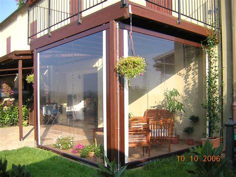 tettoia in plexiglass prezzi tende in plastica per balconi con tende plastica