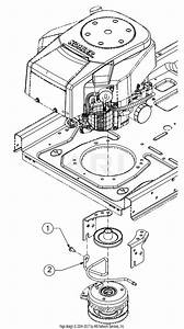 Cub Cadet Pto Clutch Diagram
