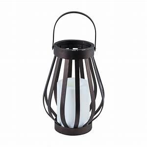Lampe Led Batterie : led laterne leuchte haus deko vintage lampe batterie ~ Edinachiropracticcenter.com Idées de Décoration