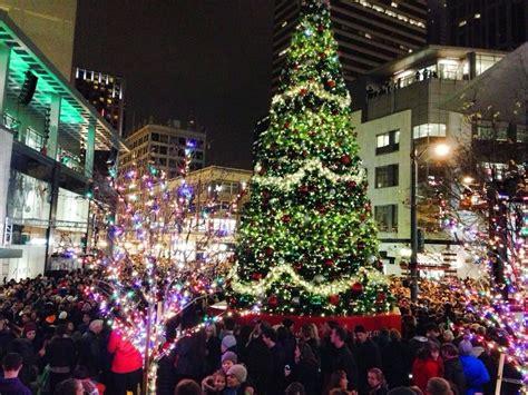 westlake center christmas tree lighting annual tree lighting event yelp