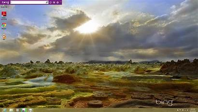 Desktop Bing Daily Windows Wallpapers Change Changer