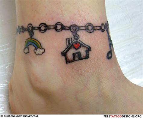 Bracelet Cheville Tatouage